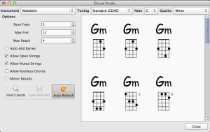 Chordious 1.0 Mac OS X Shot 6